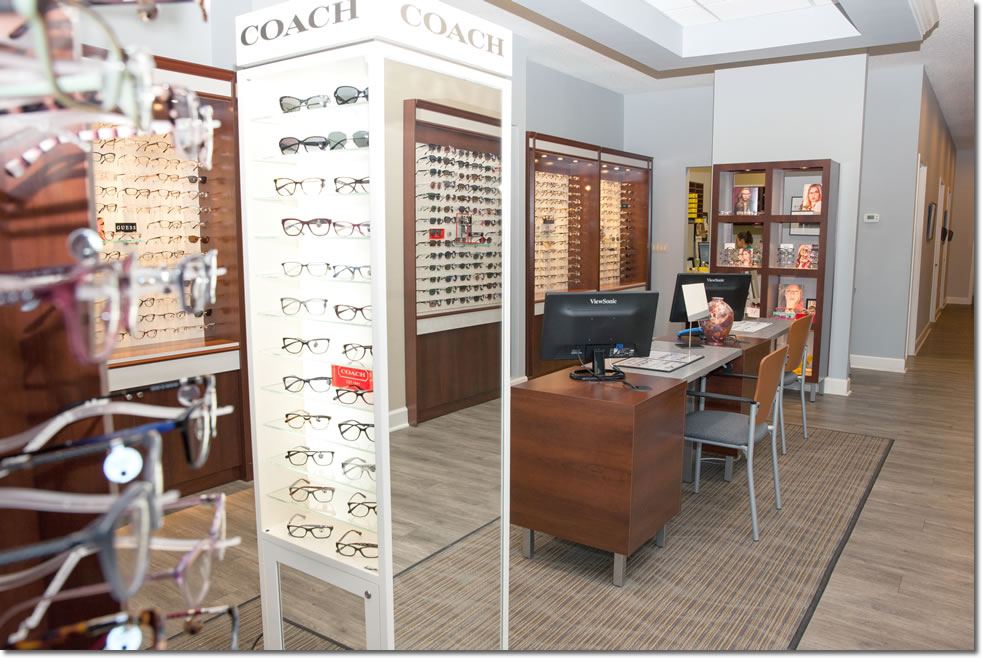 Dr Carvell Office Optical Department